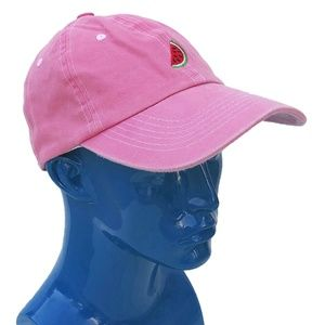 UNIF Watermelon Pink Hat 'The Fruit of All Evil'